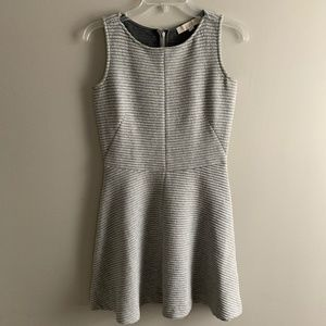 OP LOFT Grey Textured Dress
